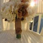 Silk Bridal Bouquet - Ivory..
