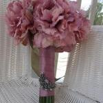 Silk Bridal Bouquet - Antiq..